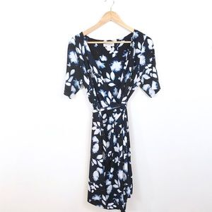 Motherhood Maternity Floral Wrap Dress